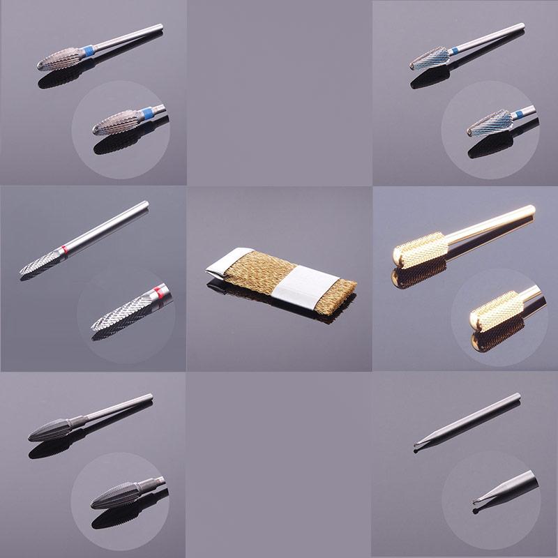 nailsandmore24 fr ser bit fr serbit zylinder mittel gold beschichtet nagelfr ser nagel. Black Bedroom Furniture Sets. Home Design Ideas